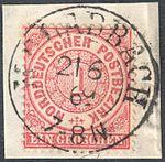 North German Confederation 1869 M. GLADBACH Feuser Pr 2185.jpg