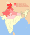 North India Zonal Map July2013.png
