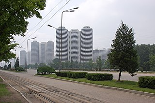Mangyongdae-guyok district of Pyongyang