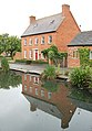 Northcote House reflected in Willoughby village pond - geograph.org.uk - 1395999.jpg