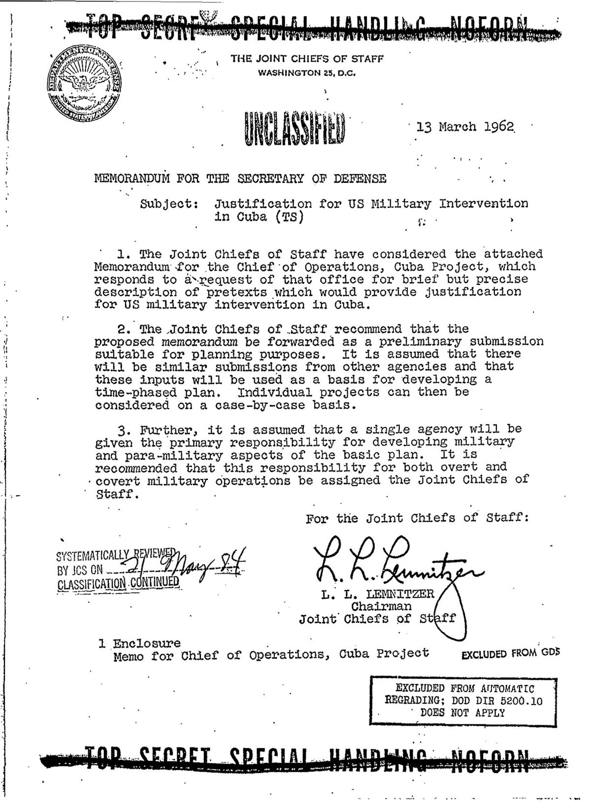Operation Northwoods Wikipedia