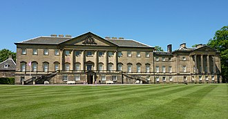 Nostell Priory - Nostell Priory - Front Elevation