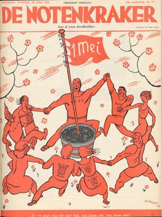 De Notenkraker - Cover with maypole
