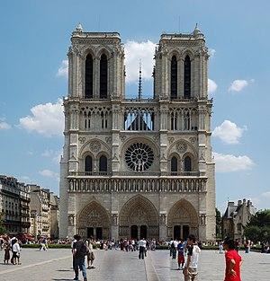 1250s in architecture - Image: Notre Dame de Paris 2792x 2911
