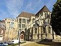 Noyon (60), cathédrale Notre-Dame, chapelle épiscopale, croisillon sud, rond-point de l'abside et déambulatoire, vue depuis le sud-est 1.jpg