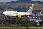 OY-JTY Boeing 737-700 JetTime (28608533433).jpg
