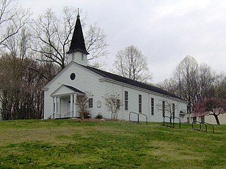 Oak Ridge, Tennessee - United Church, The Chapel on the Hill, built for Manhattan Project employees