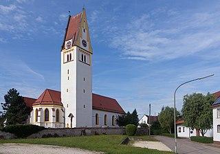 Nersingen Place in Bavaria, Germany