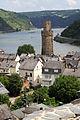 Oberweseler Ochsenturm aus der Sicht von der Anhöhe St. Martin.jpg