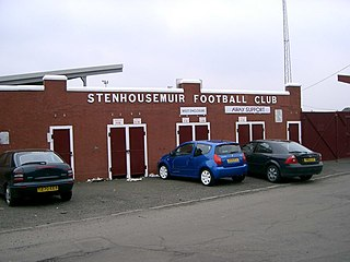 Stenhousemuir F.C. Association football club in Scotland