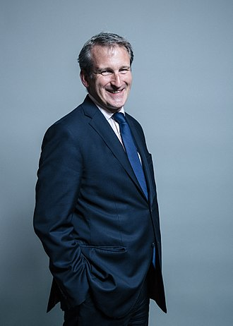 Secretary of State for Education - Image: Official portrait of Damian Hinds