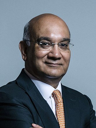Keith Vaz - Image: Official portrait of Keith Vaz crop 2