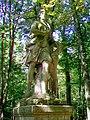 Ognon (60), parc d'Ognon, statue de Diane 02.jpg