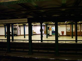 Oktogon (Budapest Metro) - Image: Oktogon