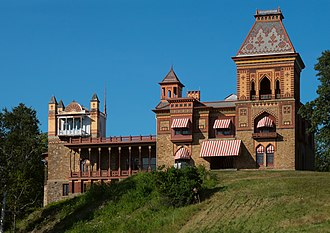 Olana State Historic Site - The Olana mansion