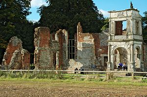 Old Gorhambury House - Ruins of Old Gorhambury House