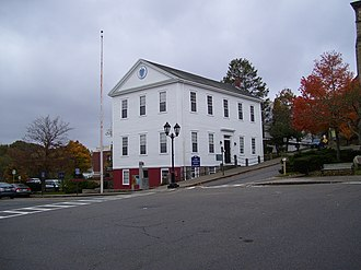 Old County Courthouse - Image: Old County Courthouse in Plymouth MA