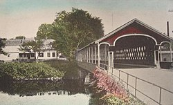 West Swanzey Covered Bridge c. 1915