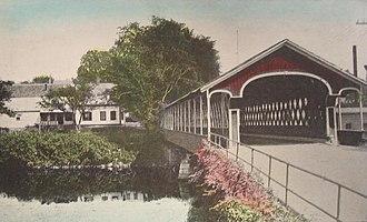 Swanzey, New Hampshire - Image: Old Covered Bridge, West Swanzey, NH