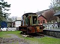 Old Loco at the Erwood Centre Craft Centre - geograph.org.uk - 158648.jpg