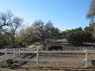 Old Agoura, Agoura Hills, California - Horse ranch in Old Agoura