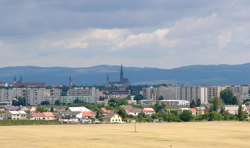 Olomouc panorama