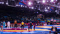 Olympic Freestyle Wrestling at Excel - 96kg Gold Medal Winner - Victory Ceremony 002.jpg