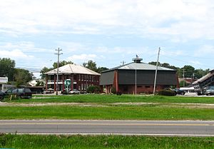 Oneida, Tennessee - Image: Oneida library tn 1