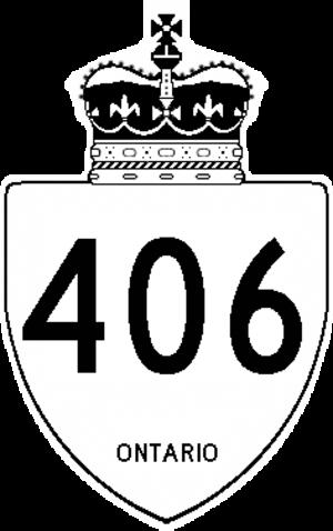 Regional Municipality of Niagara - Image: Ontario 406