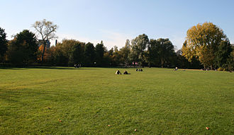 Oosterpark (Amsterdam) - Image: Oosterpark field of grass