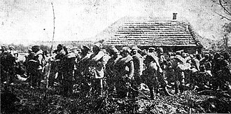 Gorlice–Tarnów Offensive - Russian prisoners of war after the battle