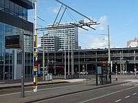 Oplaadplaats voor elektrische bus bij CS Den Haag.jpg
