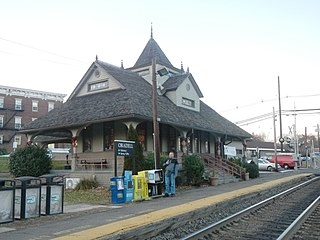 Oradell station United States historic place