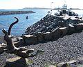Otter Sculpture at Barra Ferry Terminal - geograph.org.uk - 1365583.jpg