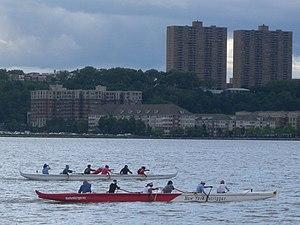 Outrigger paddling on Hudson jeh.jpg
