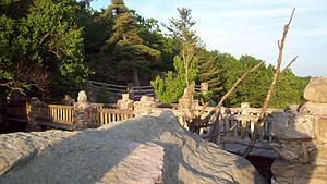 National Register of Historic Places listings in Monongalia County, West Virginia - Image: Overlook In the Evening