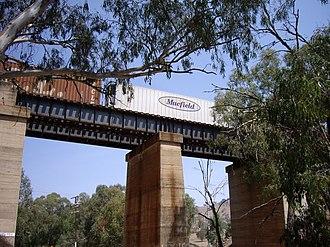 Bethungra, New South Wales - Image: Overpass Bethungra