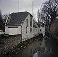 Overzicht van de achtergevel aan het water en de rechter zijgevel van de voormalige watermolen - Maastricht - 20382907 - RCE.jpg