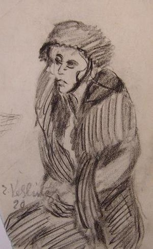 Else Sehrig-Vehling - Drawing by Else Sehrig-Vehling
