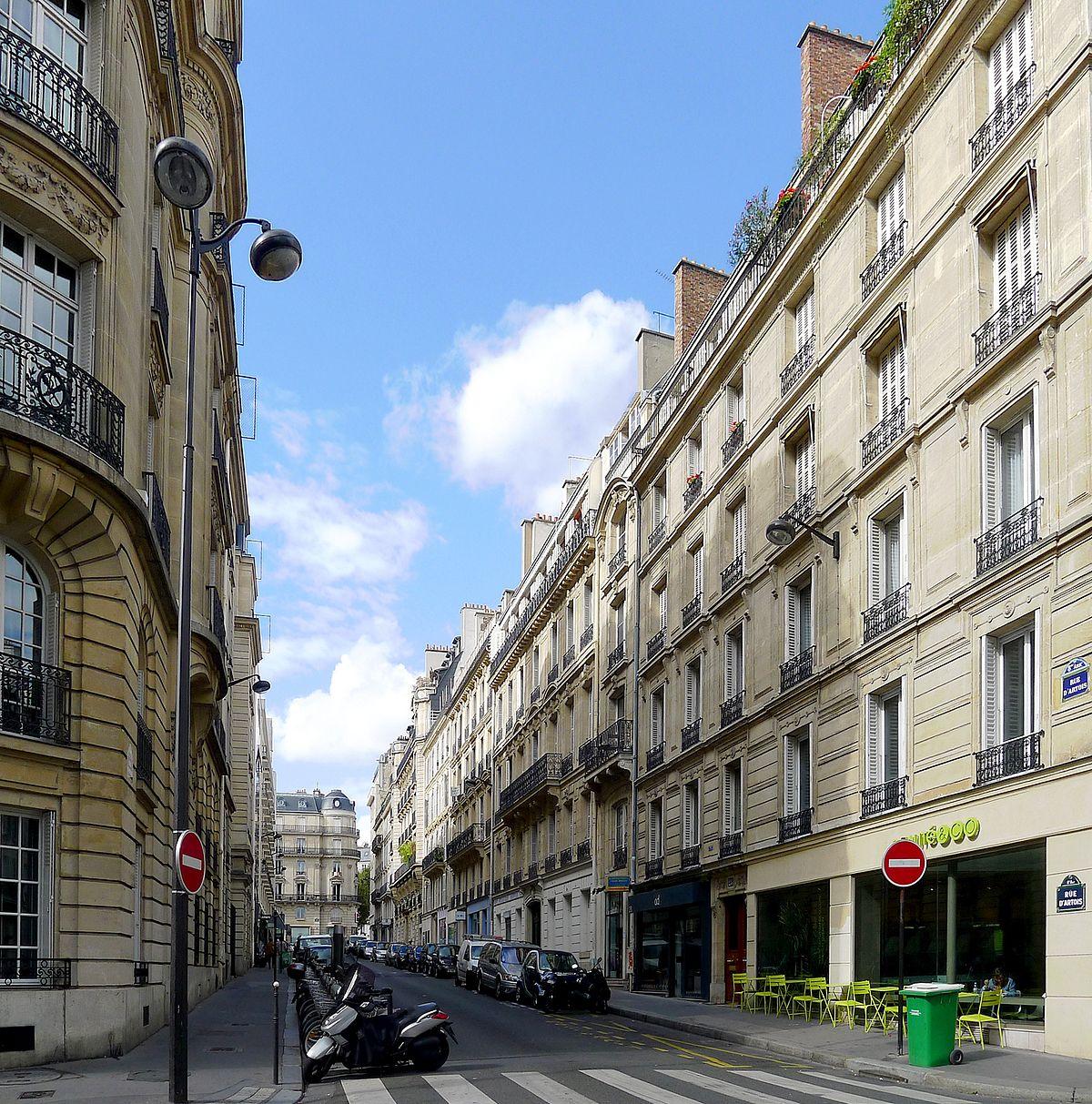 Rue D Artois Restaurant