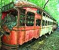 PAT streetcar at Vintage Electric Streetcar Company, May 2014.jpg