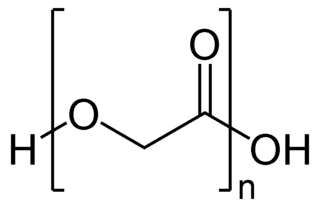 Polyglycolide chemical compound