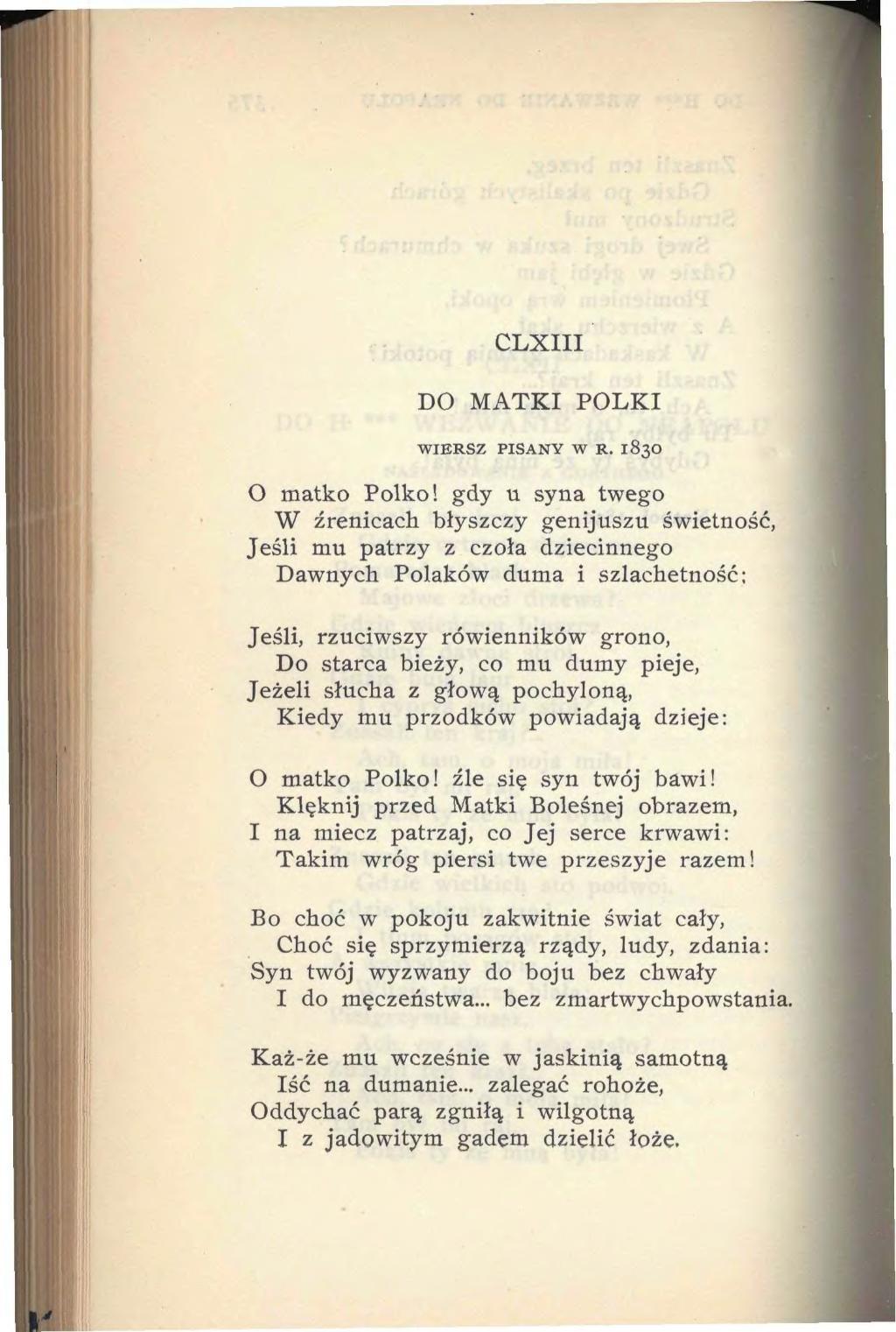 Stronapl Adam Mickiewicz Poezje 1929djvu396