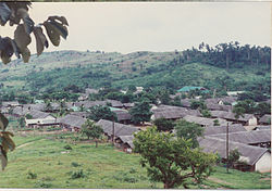 The refugee camp in 1990