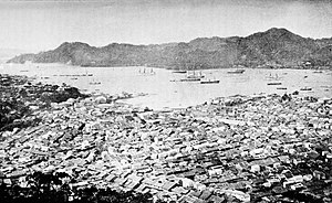 Nagasaki incident - Nagasaki harbor (1893)