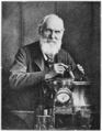 PSM V76 D622 Lord kelvin with his compass.png