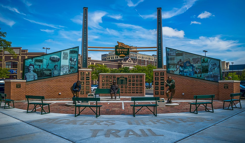 Packers Heritage Trail Plaza