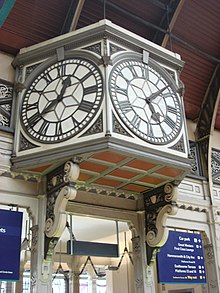 The Station Clock At Paddington