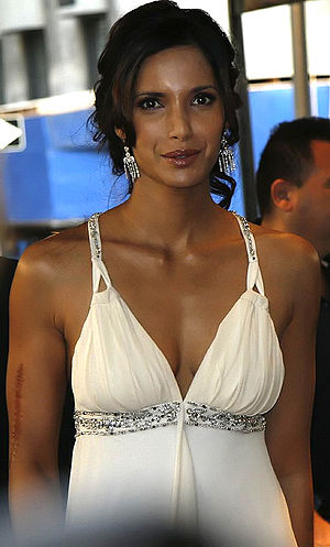 Padma Lakshmi - Lakshmi at the Metropolitan Opera, September 2006