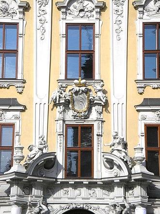 Palais Kinsky - Image: Palais Kinsky Vienna June 2006 050